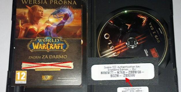 World of Warcraft authentication key again